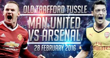 Manchester United vs. Arsenal