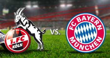 FC Koln vs. FC Bayern