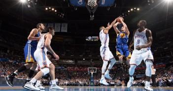 NBA - Golden State Warriors vs. Oklahoma City Thunders