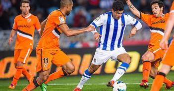 Real Sociedad vs. Valencia
