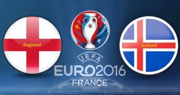 Euro 2016 England vs. Iceland