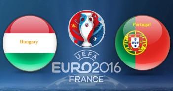 Euro 2016 Hungary vs. Portugal
