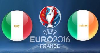 Euro 2016 Italy vs. Ireland