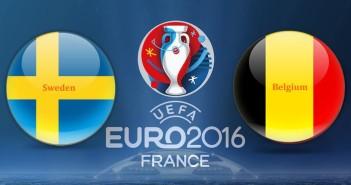 Euro 2016 Sweden vs. Belgium