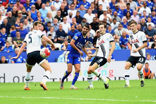 Tottenham Vs Leicester City: 2016-2017 Premier League: Leicester City Vs Tottenham
