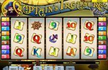 captains treasure slot game