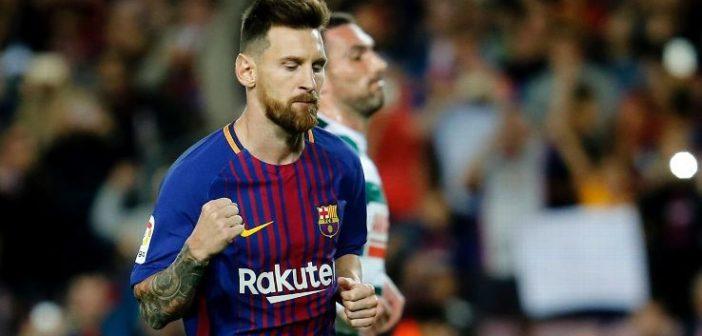 Lionel Messi leads Barcelona over Eibar