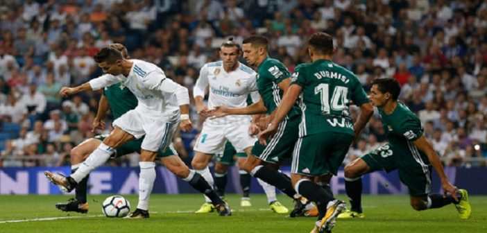 Real Betis goal shocked Real Madrid in La Liga