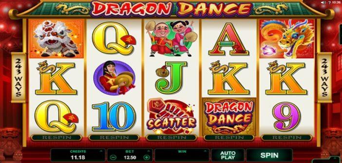 dragon dance slot game