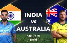 India vs. Australia