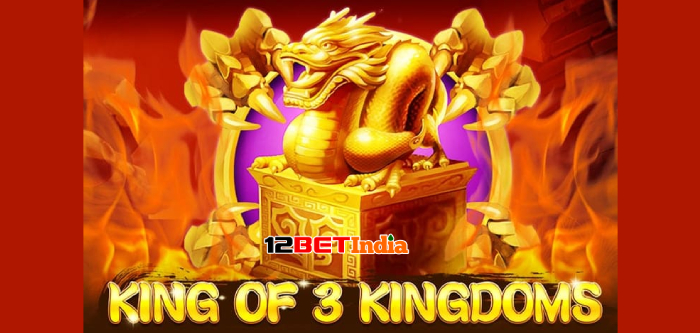 King of 3 Kingdoms slot game review and 12BET's 1,212 lucky Friday winners!
